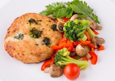 Куриный биф с брокколи