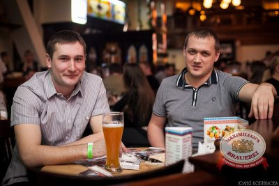 «Дыхание ночи»: Astero на вечеринке «Всемирный День Пива», 1 марта 2014 - Ресторан «Максимилианс» Челябинск - 11