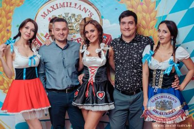Открытие 205-го фестиваля живого пива «Октоберфест-2015», 18 сентября 2015 - Ресторан «Максимилианс» Челябинск - 04