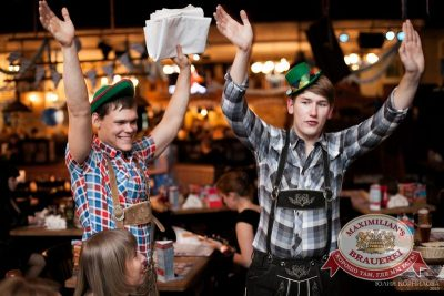 Октоберфест: Фестивальный уикенд. Выиграй тонну пива! 25 сентября 2015 - Ресторан «Максимилианс» Челябинск - 06