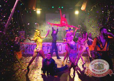 Встреча нового 2015года в«Максимилианс»: Новогодний Moulin Rouge, 1января2015