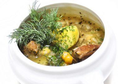 """Густой суп из баранины """"Пити"""""""