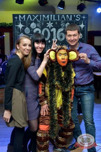 Новогодний корпоративный вечер в «Максимилианс», 27 декабря 2015 -  - 07