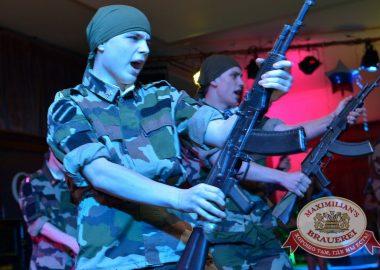День Защитника Отечества в«Максимилианс», 22февраля2016