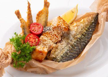 Рыбное ассорти — гриль