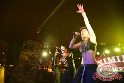 «Дыхание ночи»: Alex Kafer & Lera, 1 августа 2014 - Ресторан «Максимилианс» Екатеринбург - 02