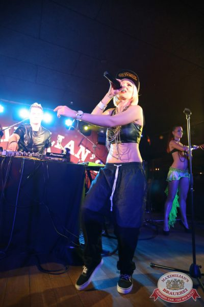 «Дыхание ночи»: Alex Kafer & Lera, 1 августа 2014 - Ресторан «Максимилианс» Екатеринбург - 15
