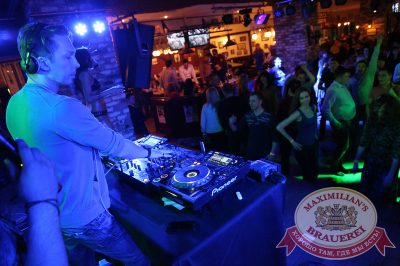 «Дыхание ночи»: DJ Roma Pafos (Москва), 21 марта 2014 - Ресторан «Максимилианс» Екатеринбург - 15