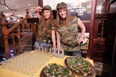 День защитника Отечества, 23 февраля 2013 - Ресторан «Максимилианс» Екатеринбург - 01