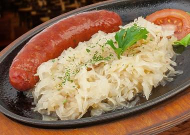Krajina sausage with cheese