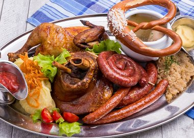 Bavarian Platter for 6-8 persons