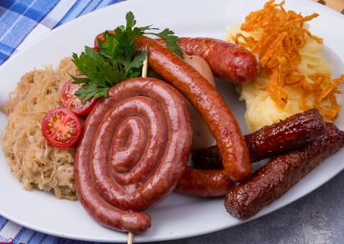 Sausage platter for 4-6 persons