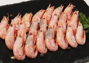 Shrimps boiled