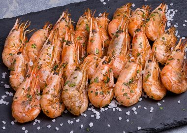 Shrimps fried