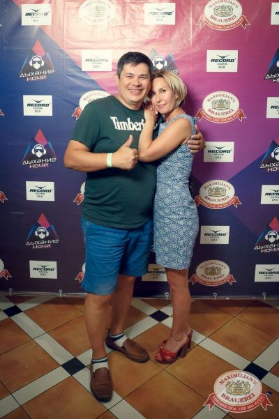 «Дыхание ночи»: Dj Miller, 3 августа 2018 - Ресторан «Максимилианс» Казань - 66