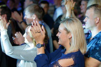 «Вечеринка Ретро FM»: «Комиссар», «Технология», «Размер Project», 13 сентября 2018 - Ресторан «Максимилианс» Казань - 21