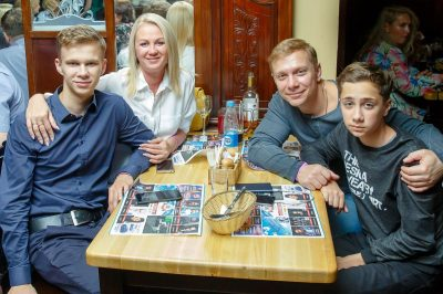 «Вечеринка Ретро FM»: «Комиссар», «Технология», «Размер Project», 13 сентября 2018 - Ресторан «Максимилианс» Казань - 49