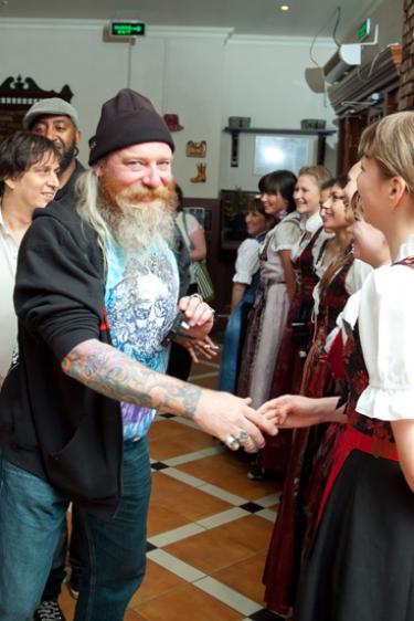 Афтерпати фестиваля «Сотворение мира», 25 июня 2011 - Ресторан «Максимилианс» Казань - 07