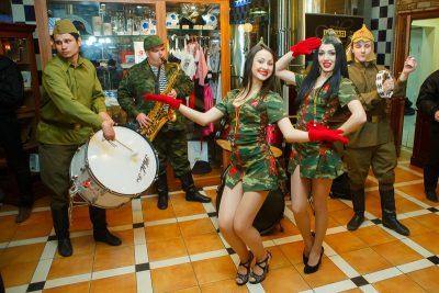 День защитника Отечества, 22 февраля 2013 - Ресторан «Максимилианс» Казань - 08
