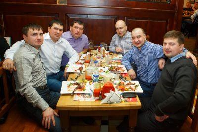 День защитника Отечества, 23 февраля 2013 - Ресторан «Максимилианс» Казань - 04