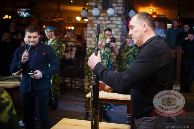 День Защитника Отечества, 22 февраля 2014 - Ресторан «Максимилианс» Казань - 02