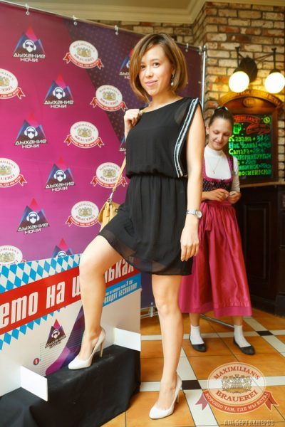 «Дыхание ночи»: DJ Fiesta Fox (Казань), 1 августа 2014 - Ресторан «Максимилианс» Казань - 05