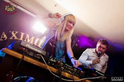 «Дыхание ночи»: Miss DJ (Казань), 18 апреля 2014 - Ресторан «Максимилианс» Казань - 01