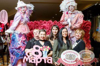 Международный женский день, 8 марта 2018 - Ресторан «Максимилианс» Казань - 16