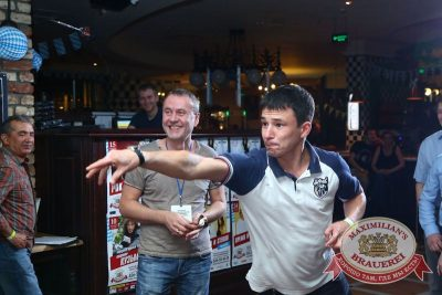 «Октоберфест»: турнир «Дартс Трофи», 23 сентября 2015 - Ресторан «Максимилианс» Казань - 19