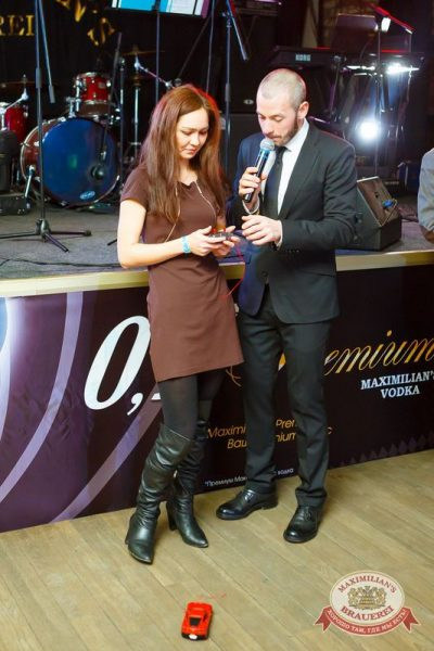 Презентация Premium Maximilian's Vodka, 30 января 2015 - Ресторан «Максимилианс» Казань - 14