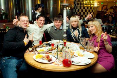 Вечер 23 февраля 2012 - Ресторан «Максимилианс» Казань - 23