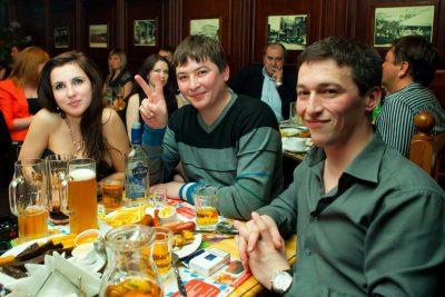 ВИА «Волга-Волга» и «Мамульки-Bend» в «Максимилианс», 12 апреля 2012 - Ресторан «Максимилианс» Казань - 16