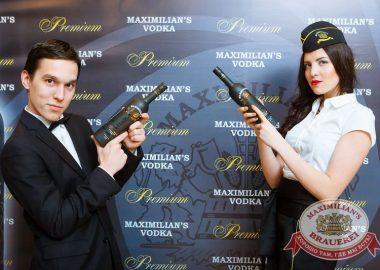 Презентация Premium Maximilian's Vodka, 30января2015