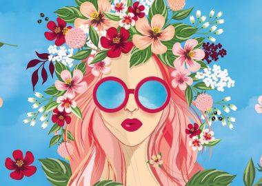 Международный женский день: Flower power