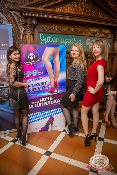 «Дыхание ночи»: Dj Baur (Москва), 9 апреля 2016 - Ресторан «Максимилианс» Красноярск - 04