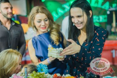«Дыхание ночи»: Dj Vini (Москва) на дне именинника, 17 октября 2015 - Ресторан «Максимилианс» Красноярск - 20