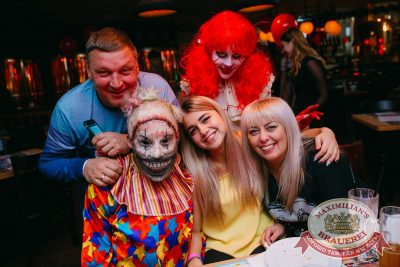 Halloween: второй день шабаша. Вечеринка по мотивам фильма «Оно», 28 октября 2017 - Ресторан «Максимилианс» Красноярск - 4