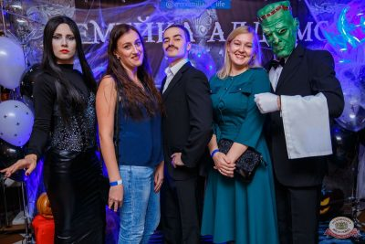 «Хэллоуин»: «Семейка Аддамс», 2 ноября 2019 - Ресторан «Максимилианс» Красноярск - 5