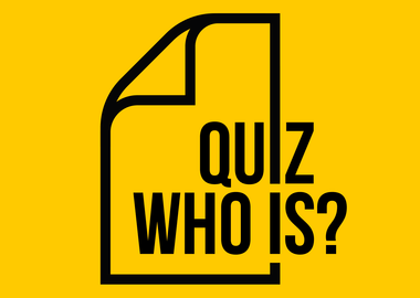 Quiz who is?