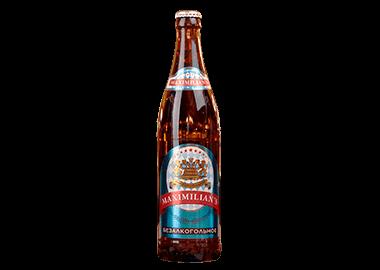 Пиво «Максимилианс», безалкогольное