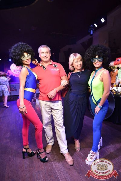 «Дискотека 80-х» от «Авторадио» в «Максимилианс» Уфа, 20 июля 2018 - Сеть ресторанов «Максимилианс» - 7