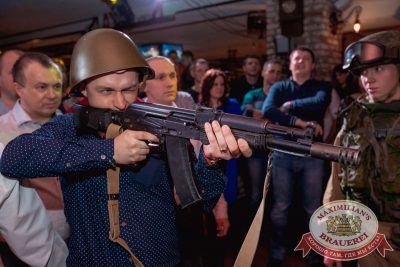 День защитника Отечества в «Максимилианс» Самара, 23 февраля 2017 - Сеть ресторанов «Максимилианс» - 25