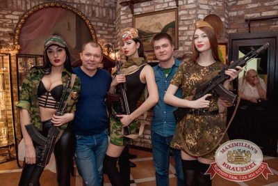 День защитника Отечества в «Максимилианс» Самара, 23 февраля 2017 - Сеть ресторанов «Максимилианс» - 5