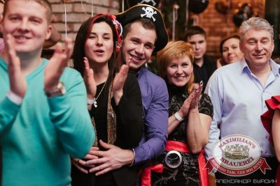 Новогодняя ночь: пираты Карибского моря. Специальный гость — ВИА «Волга-Волга» в «Максимилианс» Челябинск, 1 января 2016 - Сеть ресторанов «Максимилианс» - 13