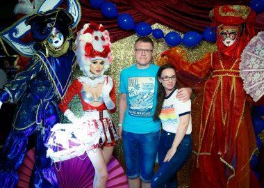 «Дыхание ночи»: венецианский карнавал «Carnival party» в«Максимилианс» Казань, 29июня2018