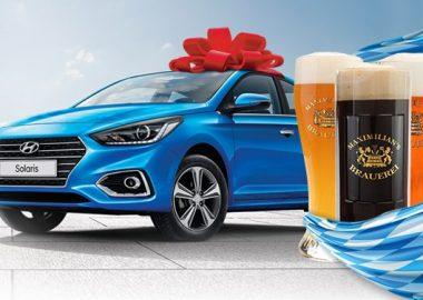 В «Максимилианс» на новом Hyundai