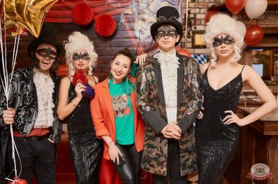 «Дыхание ночи»: «Masquerade party», 20 апреля 2019 - Ресторан «Максимилианс» Новосибирск - 1