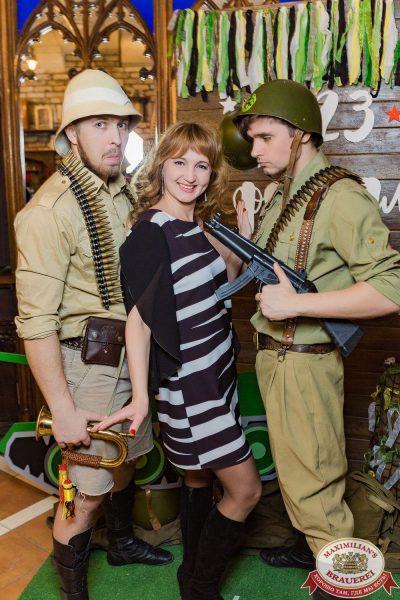 День защитника Отечества, 23 февраля 2018 - Ресторан «Максимилианс» Новосибирск - 00020