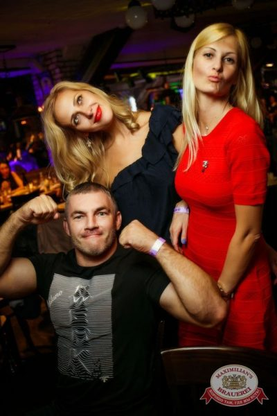 «Дыхание ночи»: Dj Denis Rublev (Москва), 28 августа 2015 - Ресторан «Максимилианс» Новосибирск - 26