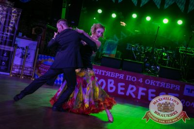 «Октоберфест»: Дни пивных дозоров. Темный дозор. Второй конкурсный день проекта «Давайте Потанцуем», 1 октября 2014 - Ресторан «Максимилианс» Новосибирск - 09